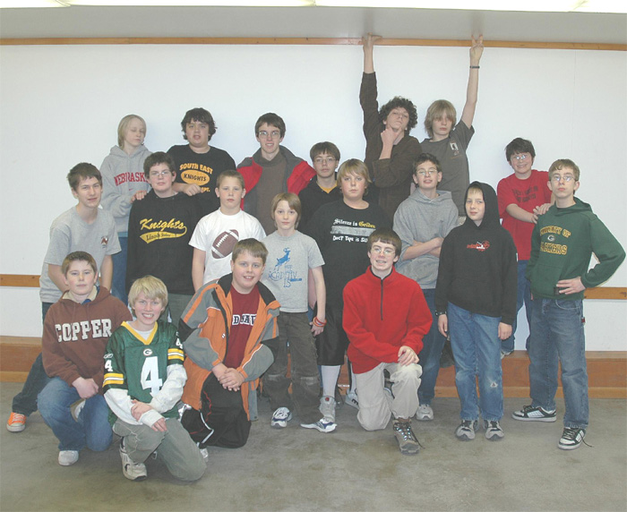 Troop 93 boys who attended Camp Ashland event