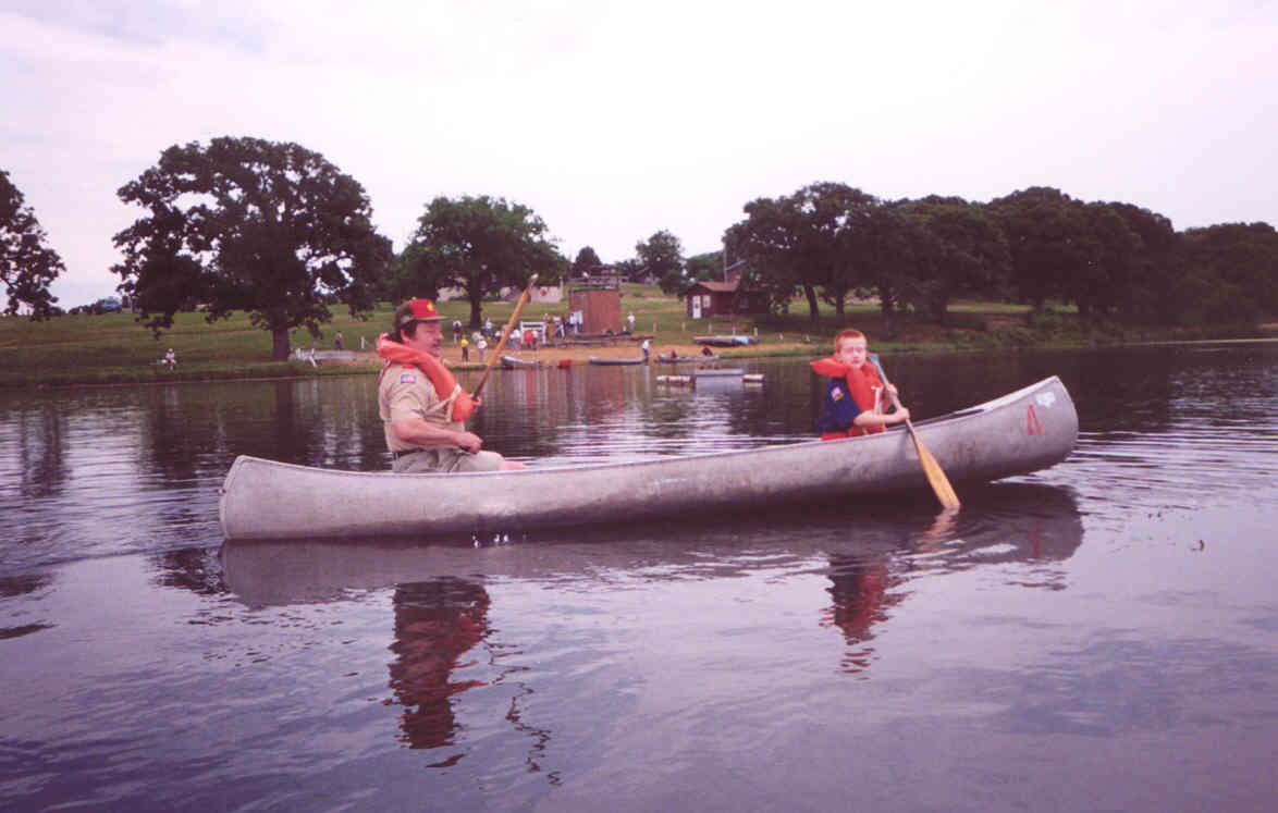 Canoeing at Camp Cornhusker